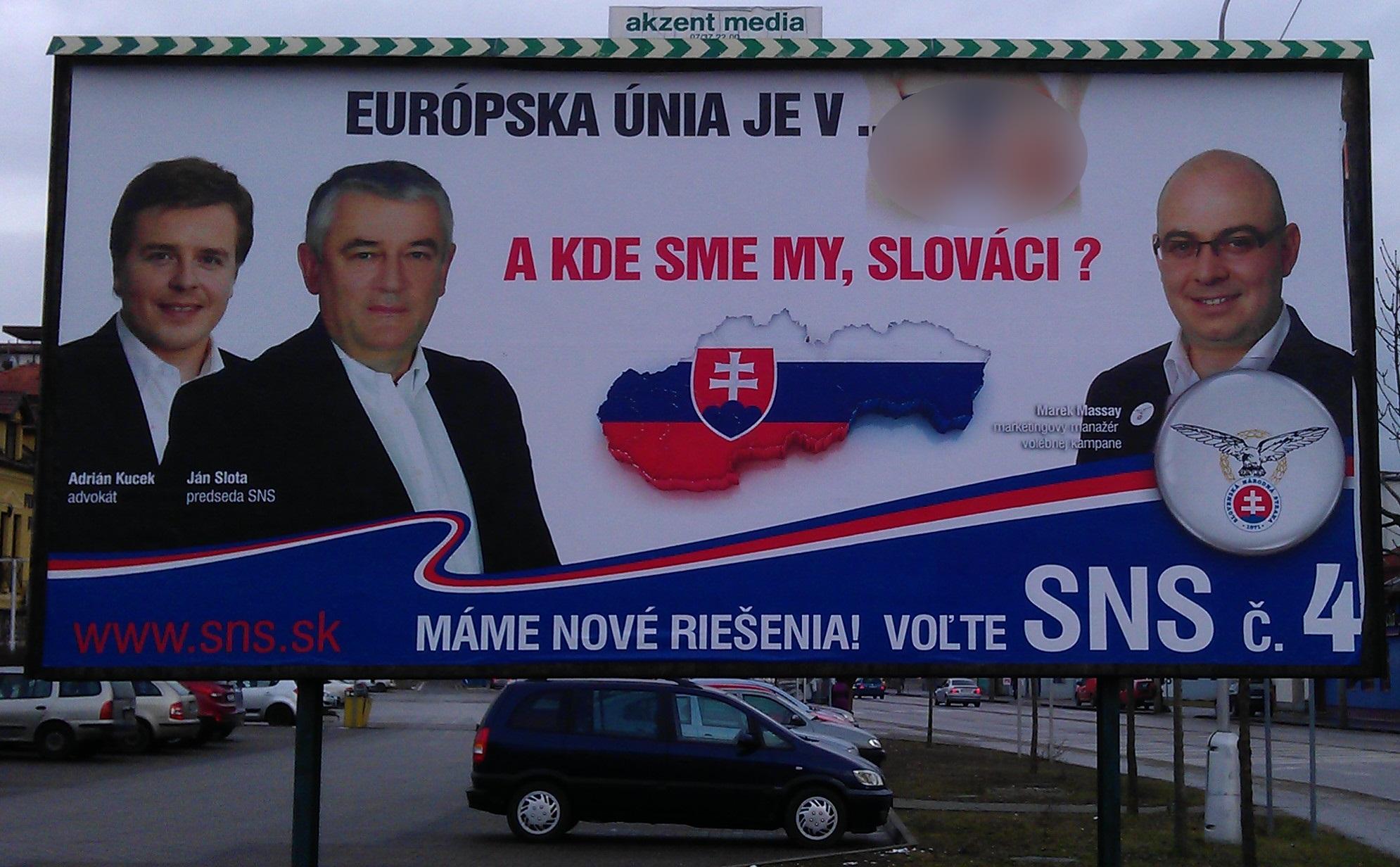 nemoralny billboard SNS